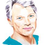 Portrait de Jon Bon Jovi aux marqueurs par Laurie Sénacq