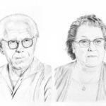 Portrait commandé de Charle et Alice par Laurie Sénacq